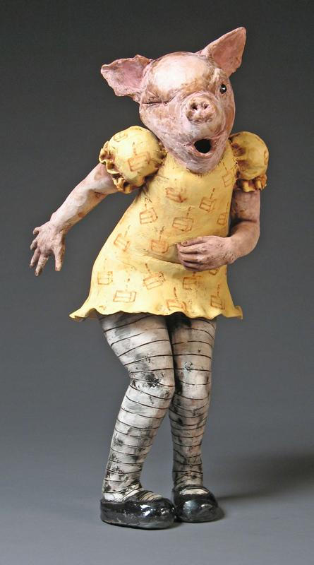 Magda Gluszek - Too Much Cake, 2006, terracotta
