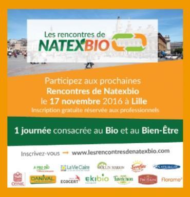 Grande réunion des professionnels du secteur bio à Lille le 17 novembre