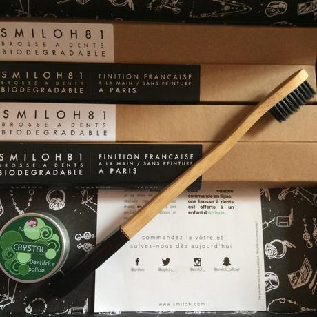 Innovation dans le brossage de dents zéro déchet et social grâce à Smiloh.