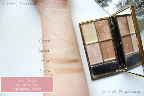 Cleopatra's Kiss Highlighting Palette | Sleek Makeup 🌟