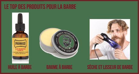 Produits et accessoires pour barbe de hipster