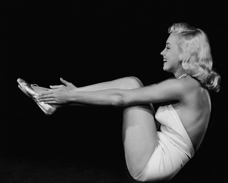 Marilyn et le yoga