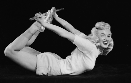 Marilyn et le yoga