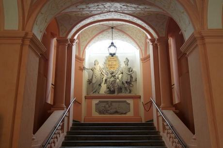 autriche wachau melk abbaye stift escalier empereur