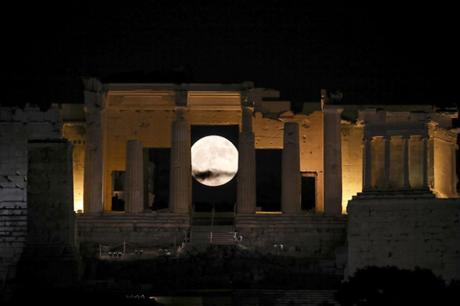 Acropolis à Athènes (Grèce) - © AP
