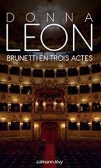 Brunetti en trois actes - Donna Leon