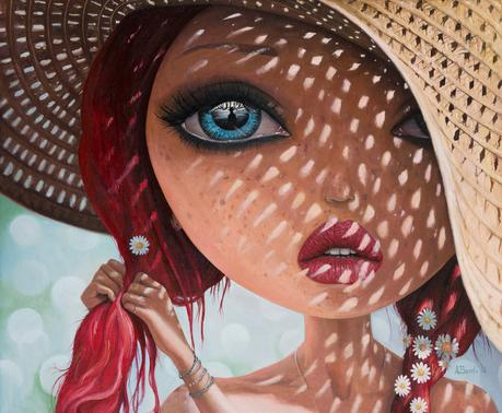 Adrian Borda – That Perfect Love I Never Had – oil on canvas 45x55cm