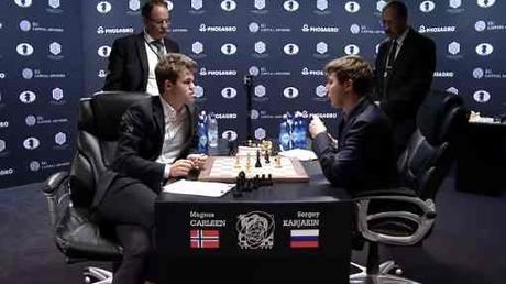Le Championnat du Monde d'échecs Carlsen vs Karjakin - Photo © site officiel