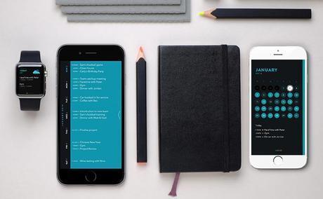 Idée cadeau High Tech N°5 - TimePage, l' agenda Moleskine