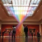 ART : L'arc en ciel de Gabriel Dawe