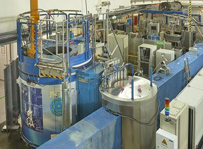 Photograph of the Diffuse Scattering Neutron Time-of-Flight Spectrometer at the Julich Centre for Neutron Science