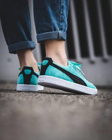 Diamond Supply x Puma Clyde Aruba Blue