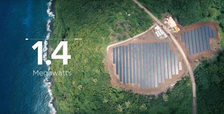 Tesla et SolarCity ont permis à une île entière de s'alimenter en énergie solaire