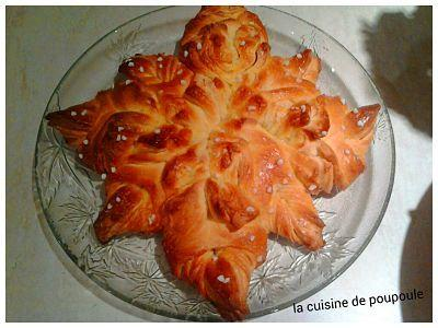 Brioche flocon au thermomix ou Kitchenaid