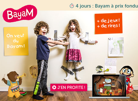 Bayam propose son offre Black friday
