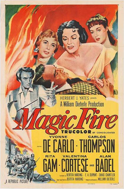 Magic fire, un film de William Dieterle qui retrace la biographie de Wagner (1955)