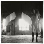 Francesca Woodman. From 'Angel' series, Rome, Italy, 1977