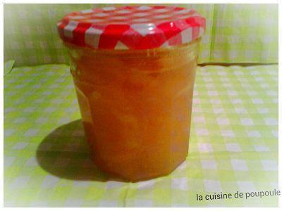 Confiture de pomme au gingembre