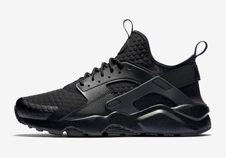 fresh styles hot sale online 100% quality Nike Air Huarache Ultra Premium Triple Black | À Voir
