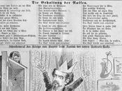 Caricature Louis Bavière Richard Wagner) dans Kikeriki 1886