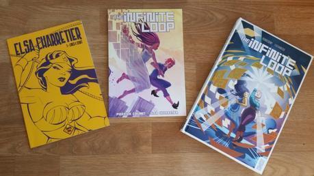 Le sketchbook d'Elsa Charretier, l'édition Ulule de The Infinite Loop, et le tome 2 édité chez Glénat comics !
