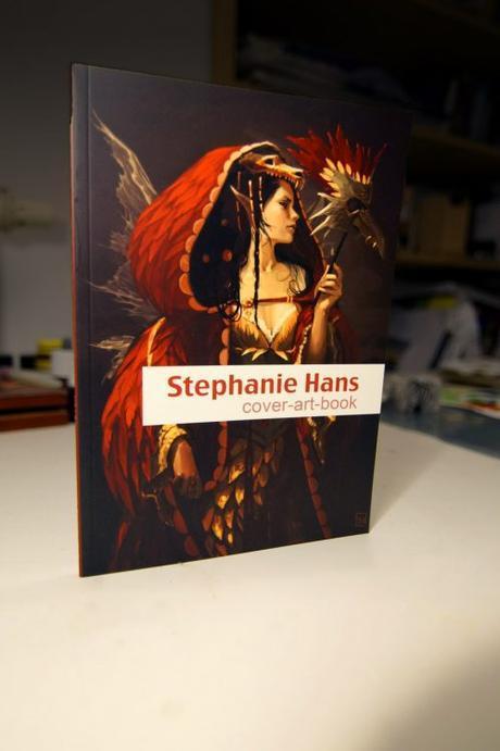 Artbook de Stéphanie Hans, qui fait surtout des covers