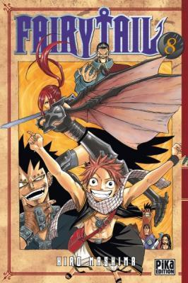 Couverture Fairy Tail, tome 08