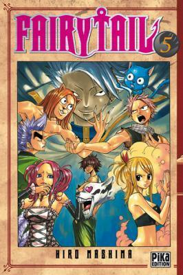 Couverture Fairy Tail, tome 05