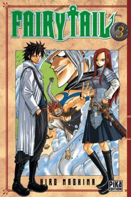 Couverture Fairy Tail, tome 03