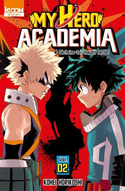 Couverture My Hero Academia, tome 02