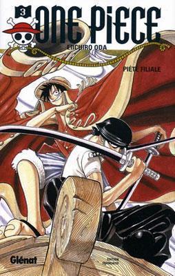 Couverture One Piece, tome 03 : Piété filiale