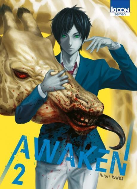 Couverture Awaken, tome 2
