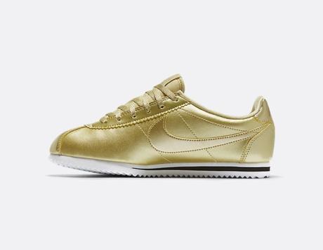 Nike Cortez SE GS Gold Paperblog