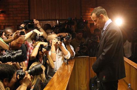 Oscar Pistorius au tribunal (©Themba Hadebe-AP)