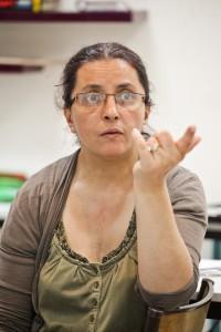 Kheira Chergui, l'animatrice de l'ASL © E.R