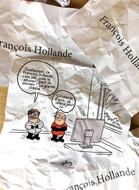 Hollande remonte dans l'opinion