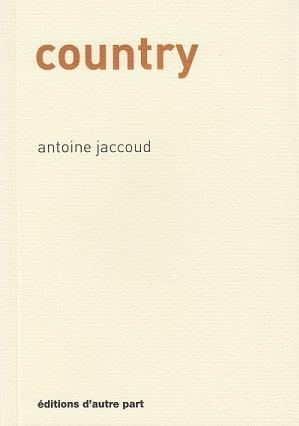 Country, d'Antoine Jaccoud
