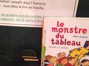 Chut enfants lisent monstre tableau