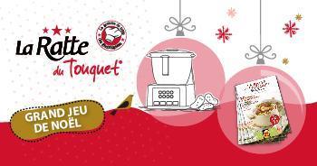 Grand jeu de Noël : 1 robot cuiseur & 10 000 magazines Ratte du Touquet à gagner !