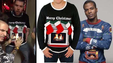 CHRISTMAS 2016 : Lighted Fireplace Ugly Christmas Sweater