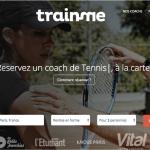 TrainMe, plateforme communautaire de coaching sportif