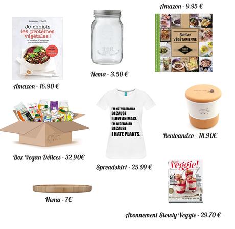 10 idées cadeaux pour une végétarienne (to-be)