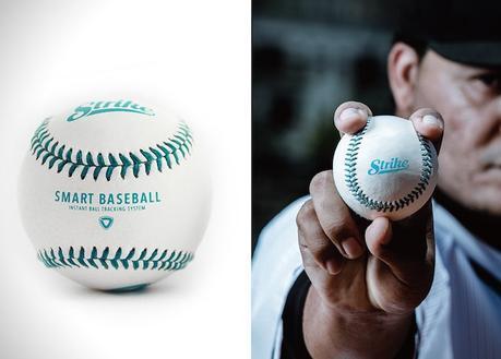 «Strike», la balle de baseball intelligente