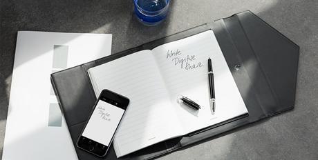 Montblanc Augmented Paper, un stylo connecté à votre iPhone