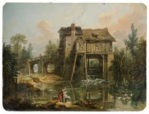 boucher-1739-le-moulin-de-quiquengrogne-a-charenton-coll-part