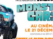 MONSTER CARS l'aventure Noël Décembre Cinéma.