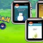 Pokémon GO : une sortie imminente sur Apple Watch
