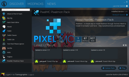 comment installer pixelmon