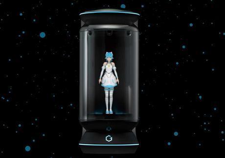 Gatebox, une intelligence artificielle sous la forme d'un hologramme très sexy !