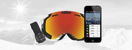 Le ski connecté du fart jusqu'au bonnet